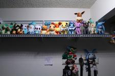 Right side of the big ol' shelf over my desk.  There are a few guys in the background you can't see very well from below.