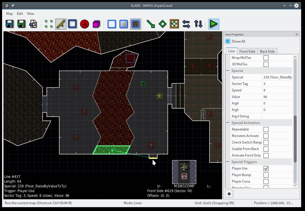 You should make a Doom level, part 2: design / fuzzy notepad