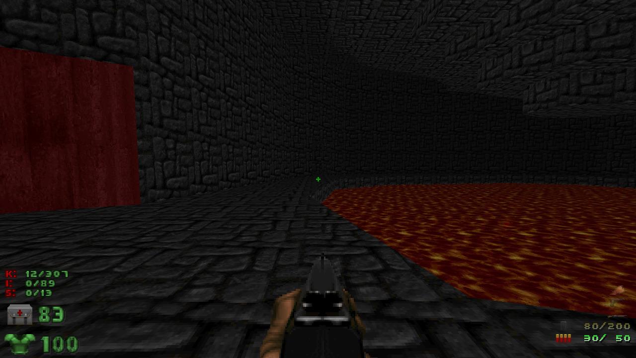 I made a Doom level / fuzzy notepad