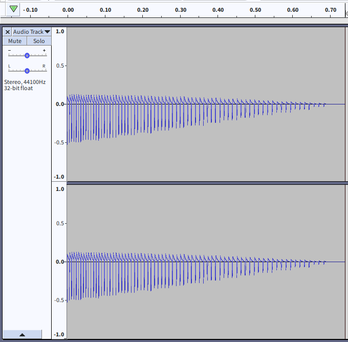 Waveform of the above sound