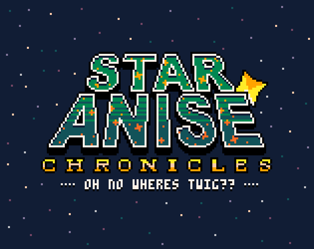 Title and logo for the game